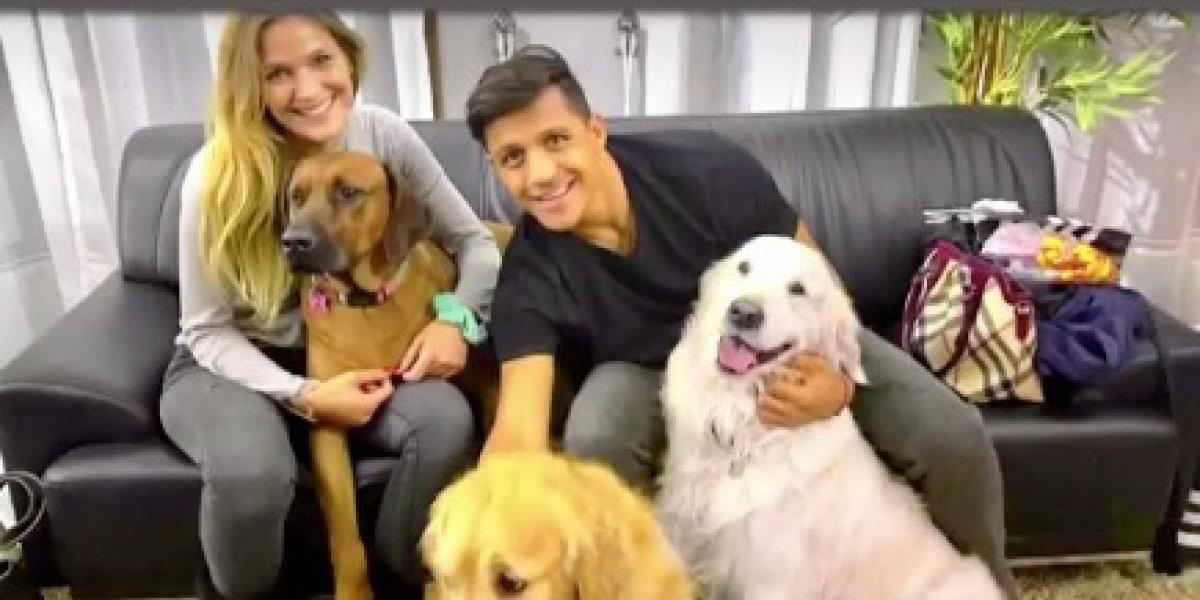 Alexis Sánchez y Mayte Rodríguez confirman término de su relación amorosa