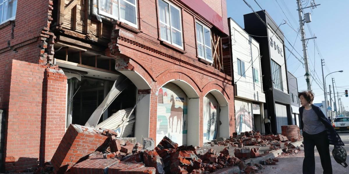 Sismo de magnitud 6.7 estremece el norte de Japón