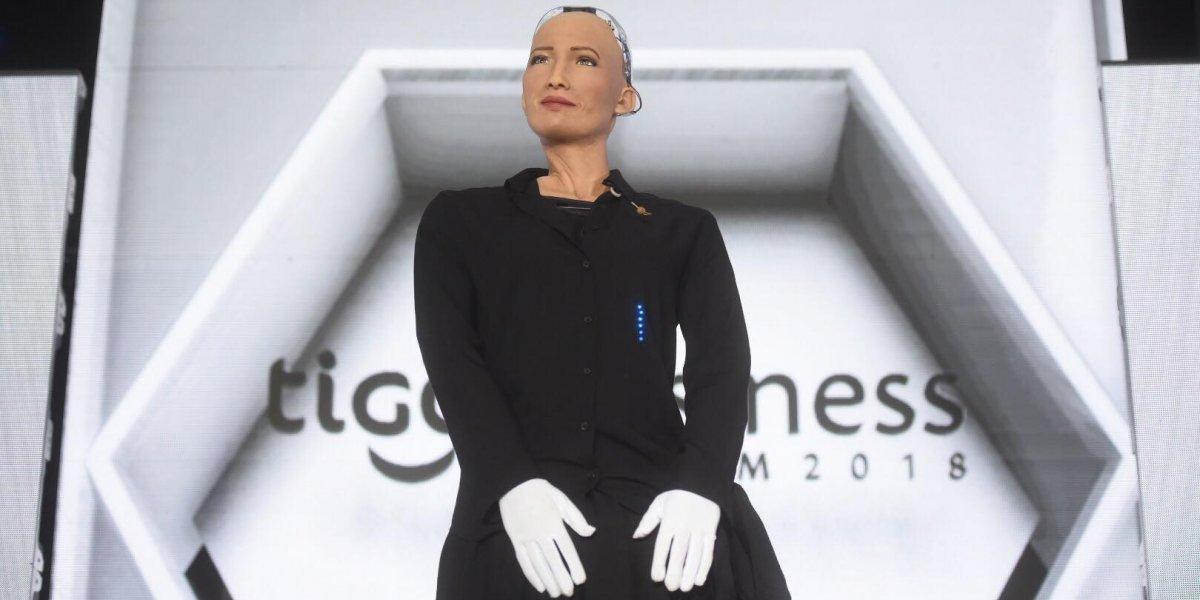 Lo que nos dejó la robot Sophia durante su paso por Guatemala