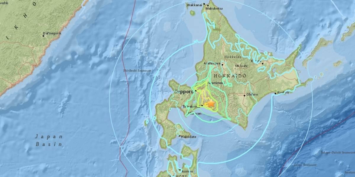 Dos sismoscasi simultáneos sacuden el territorio de Japón
