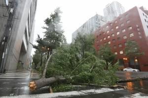 Paso del tifón Jebi por Japón