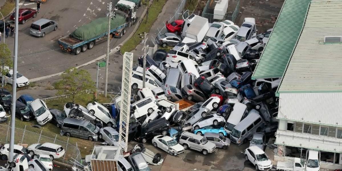 VIDEO. Devastador tifón Jebi deja al menos 11 muertos en Japón