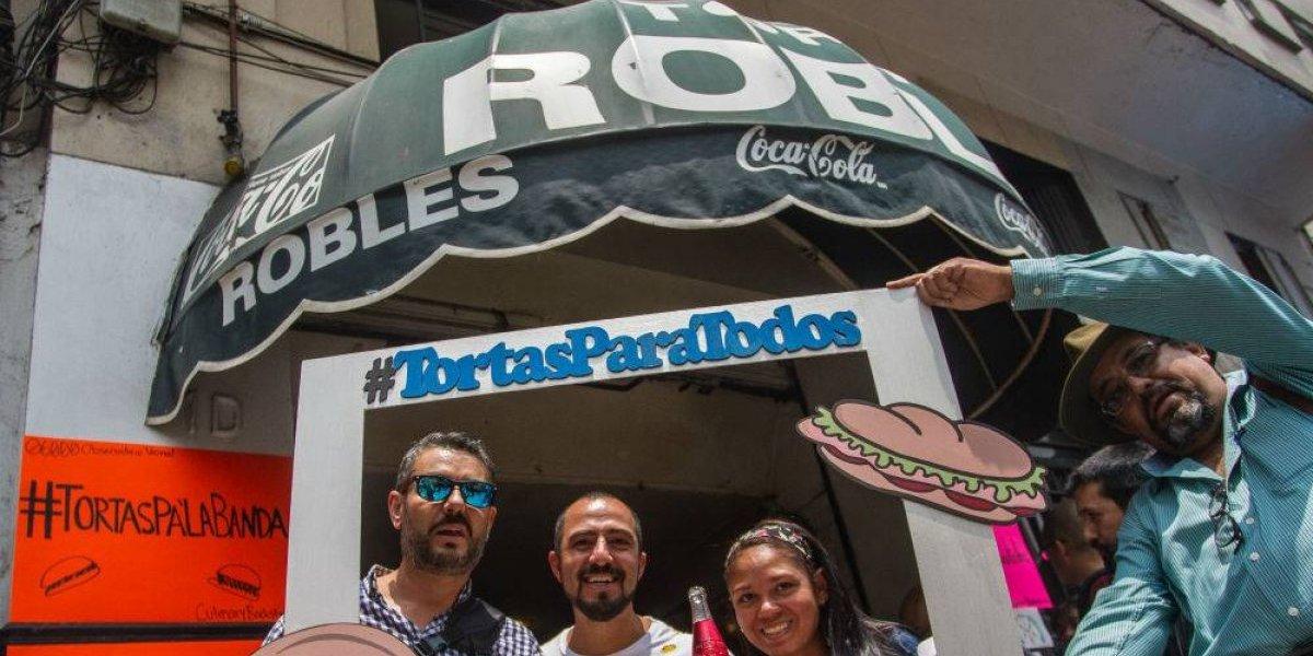Realizan 'tortatlón' para salvar a las Tortas Robles