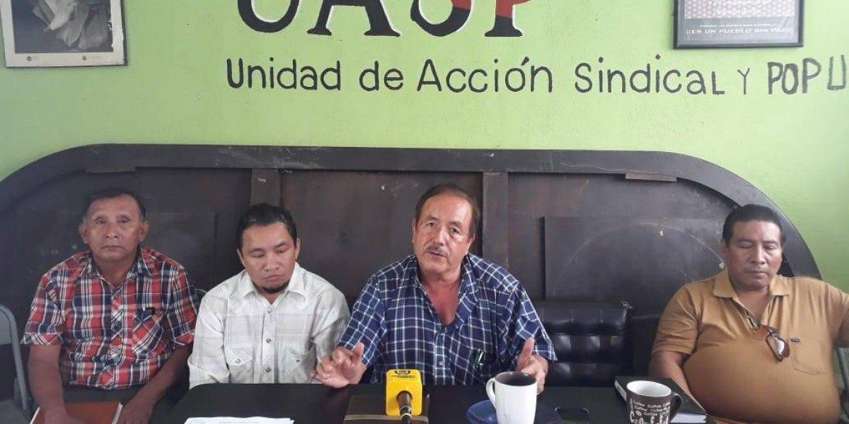 UASP anuncia manifestaciones por tres días consecutivos para pedir la renuncia del Presidente