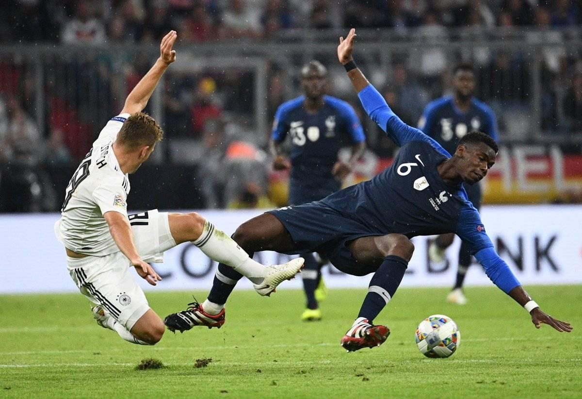 Alemania no pudo en casa ante Francia