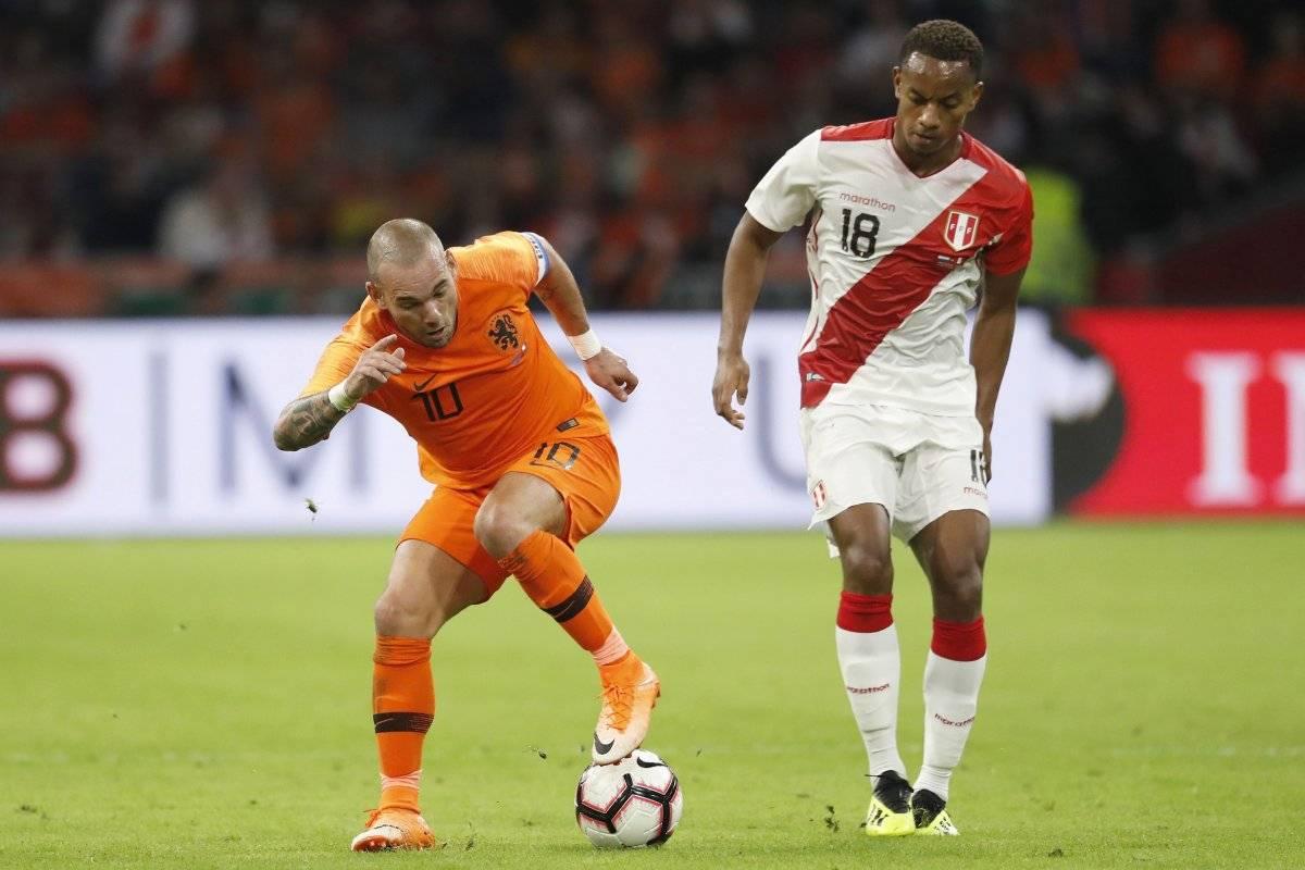 Sneijder jugó su último partido con Holanda