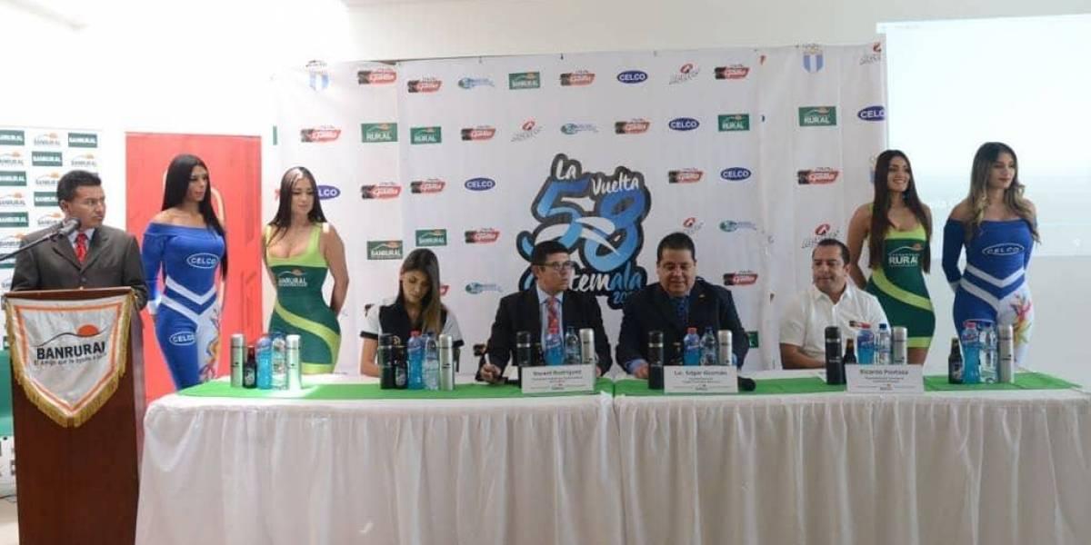 Presentan oficialmente la edición 58 de la Vuelta a Guatemala
