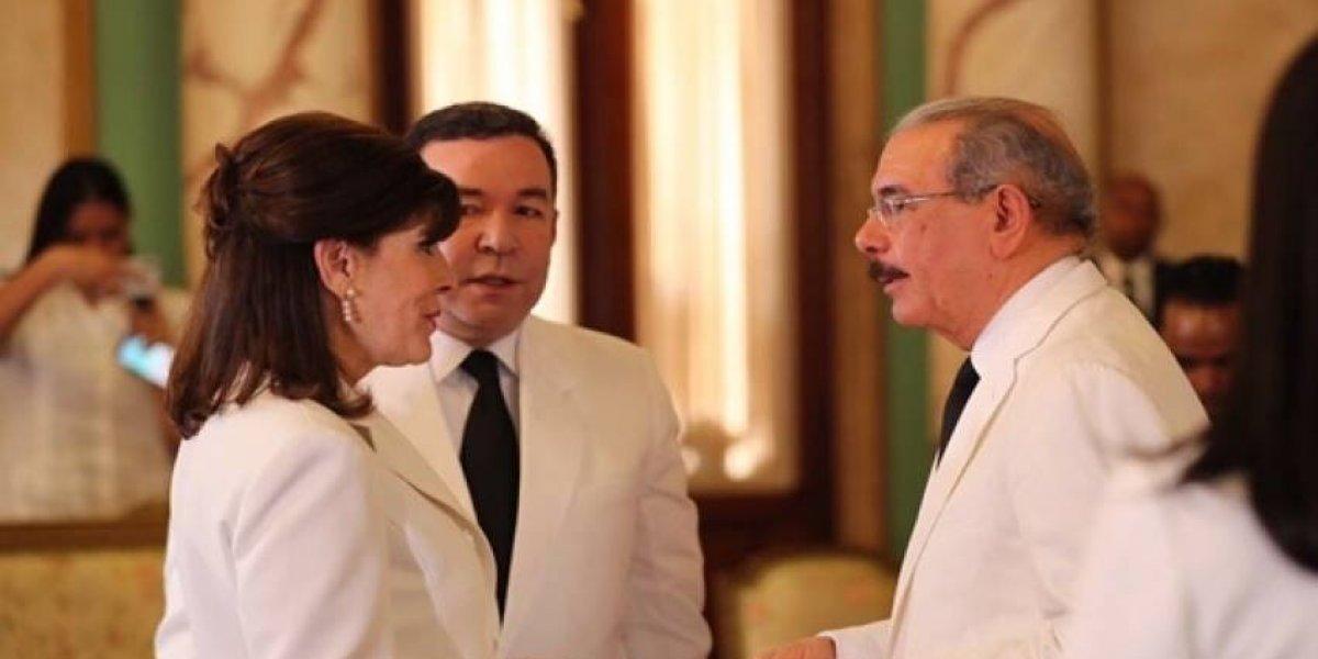 Presidente Medina recibe nuevos embajadores de Alemania, EE.UU, Arabia Saudita y Nigeria