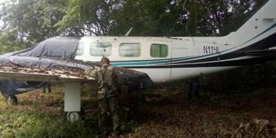 Aeronave abandonada en Retalhuleu