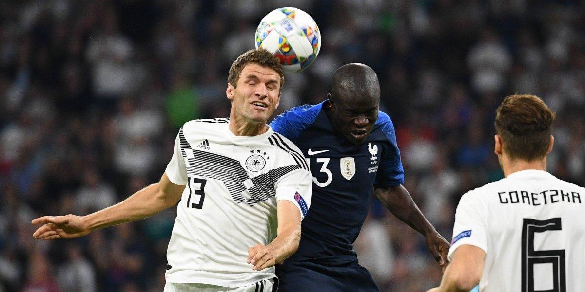 Francia estrena su corona con un pálido empate ante Alemania