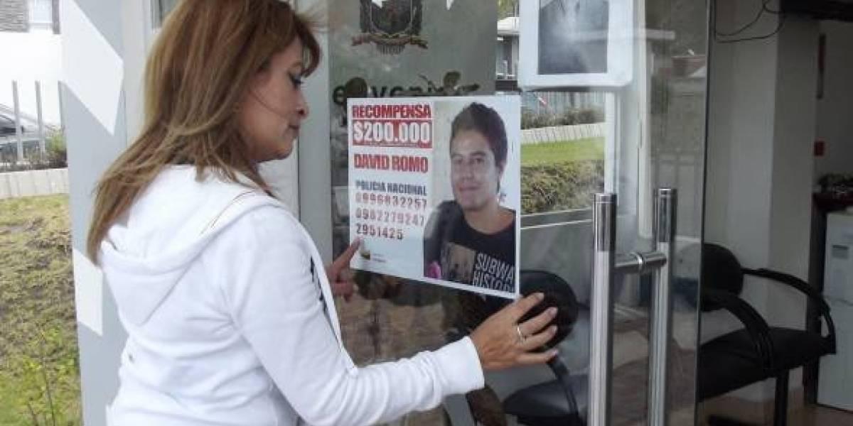 Madre de David Romo pide que no se vincule a su hijo con el asesinato de un hombre en Quito