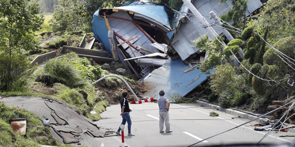 Las imágenes de destrucción que dejó el terremoto 6,7 en Japón que deja al menos ocho muertos