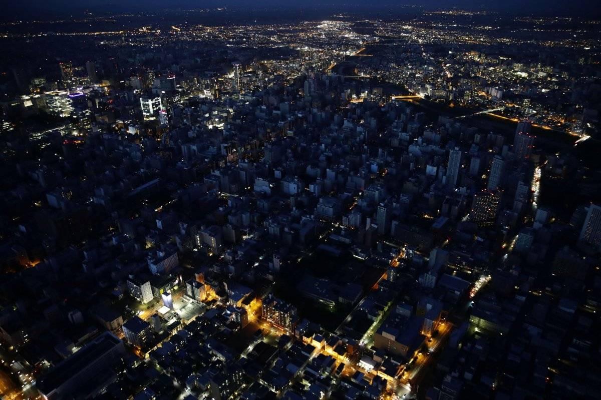 corte de luz terremoto Japón