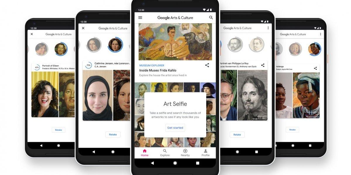 Con esta app podrás ver si tu selfie se parece a reconocidas obras de arte