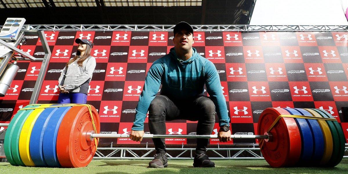"""El pesista Arley Méndez va por todo con Tokio 2020 en la mira: """"Quiero revalidar mi título mundial"""""""