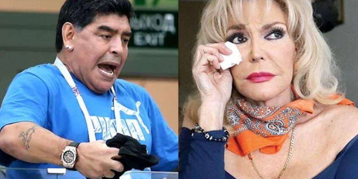 Vedette mexicana revela encuentros sexuales con leyenda del futbol argentino