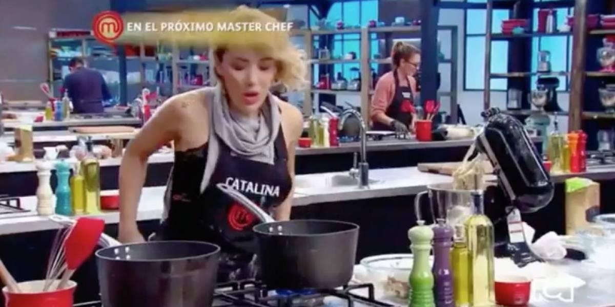 Dura respuesta de Catalina a Estefanía Borge por descalificar su trabajo en MasterChef Celebrity