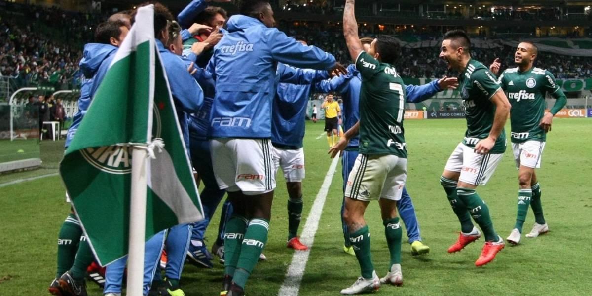 Palmeiras en llamas: Pelea el Brasileirao, está en semis de la Copa Brasil y amenaza a Colo Colo en Libertadores