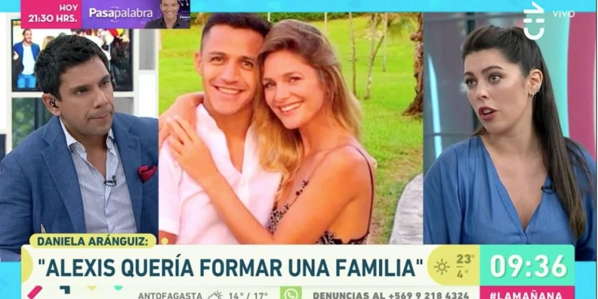 """Alexis Sánchez tenía """"una actitud un poco machista"""" con Mayte Rodríguez, dice Juan Pablo Queraltó"""
