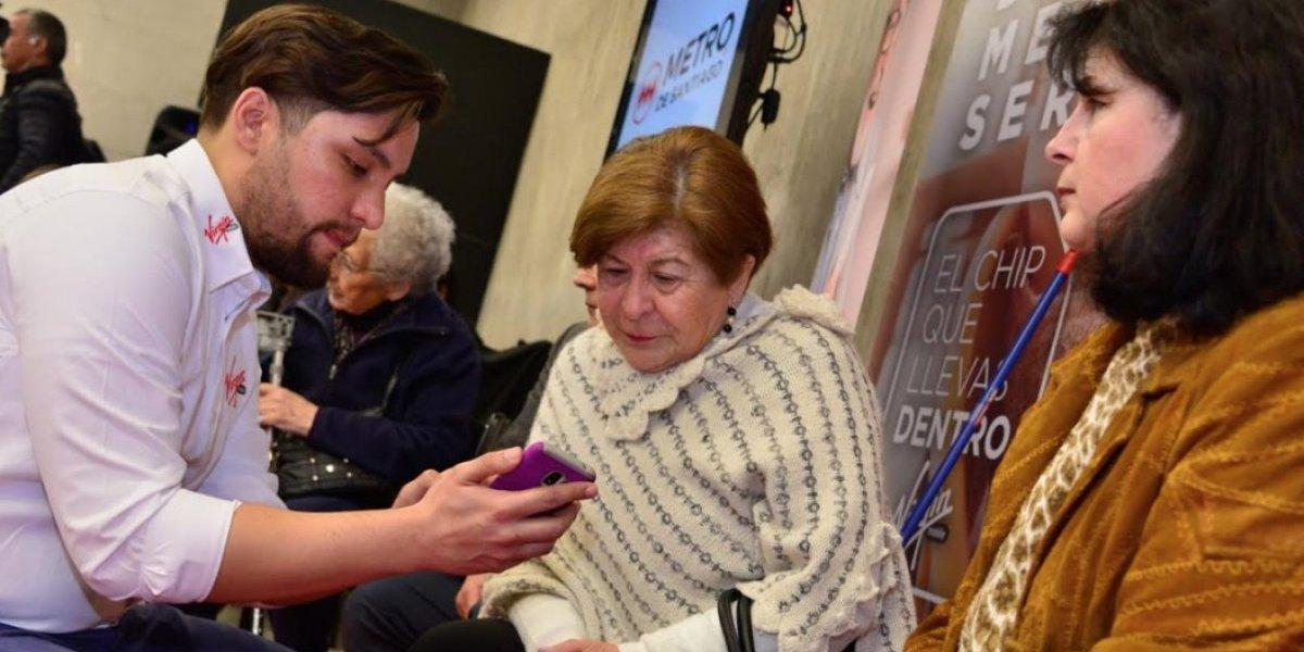 Atentos, millennials: Metro inauguró nuevo punto wifi y llega a 30 en toda la red
