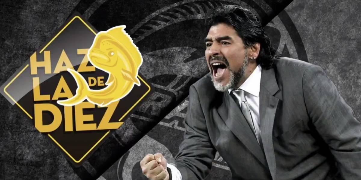 OFICIAL: Maradona llega a Dorados de Sinaloa