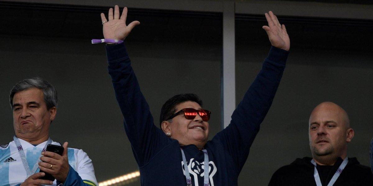 Maradona tomará el mando de un equipo en México