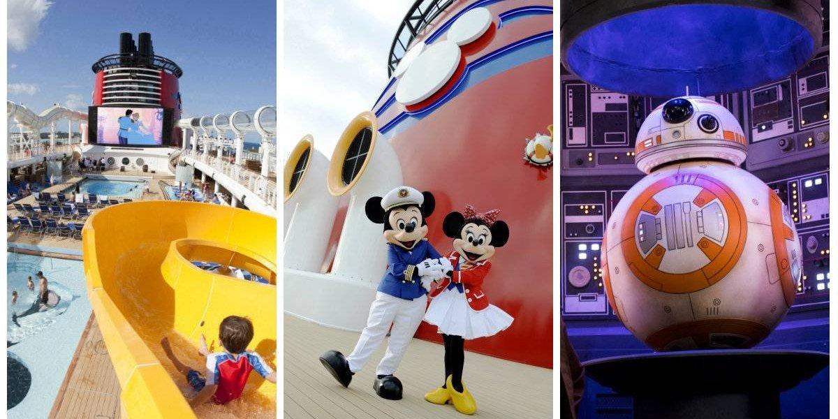 Descubre lo mejor del mágico crucero Disney Fantasy