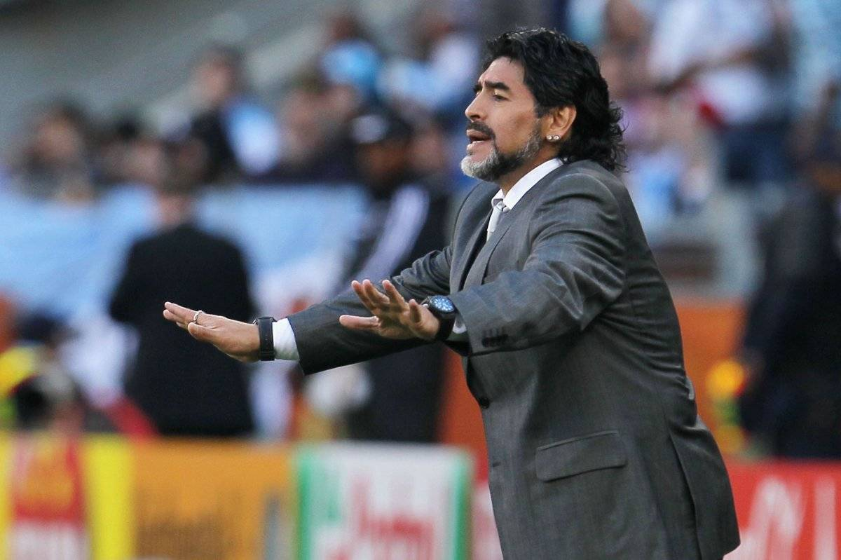 Dorados es el sexto equipo al que dirige Maradona Getty images
