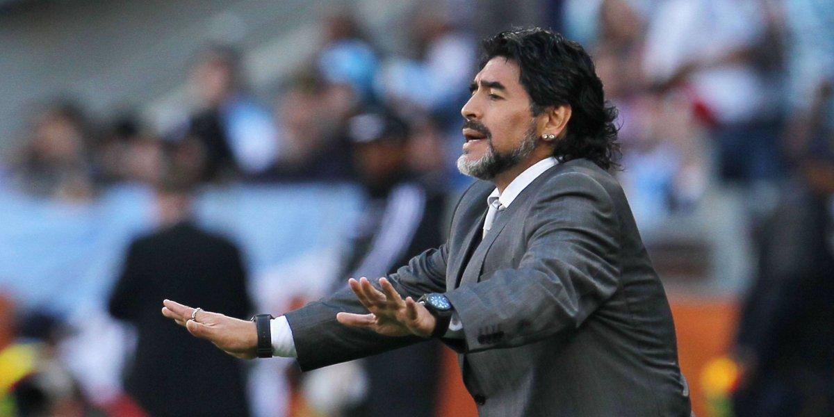 Los números de Diego Maradona como director técnico