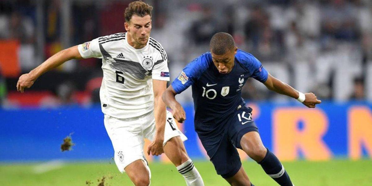 Francia estrenó su título mundial con un corajudo empate ante Alemania en la nueva Nations League