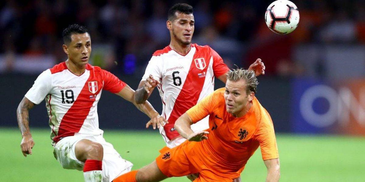 El nuevo Perú de Gareca mostró sus cositas, pero Holanda lo dio vuelta y le ganó en Amsterdam
