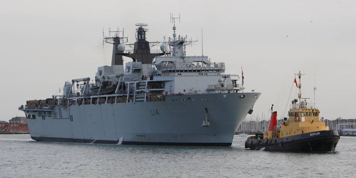 Gran Bretaña desafía a China: buque de guerra británico se enfrenta con militares chinos  en islas en disputa provocando la furia de Beijing