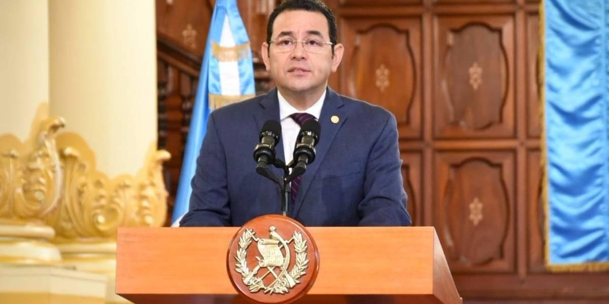Presidente Jimmy Morales señala pasividad de la ONU y confirma acciones contra CICIG e Iván Velásquez