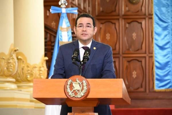 presidente Jimmy Morales confirma decisiones sobre CICIG
