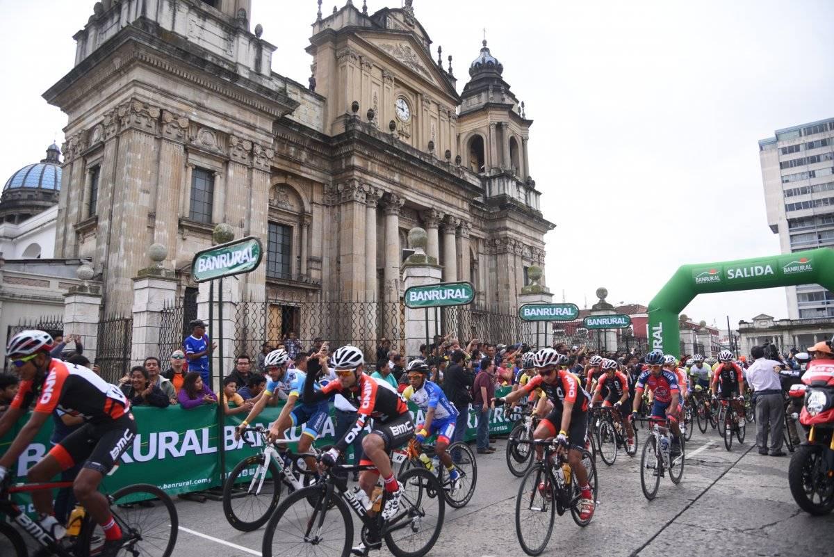 La Vuelta a Guatemala partirá a un costado de la Catedral.