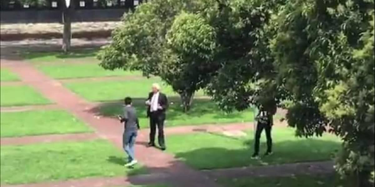 Suspende UNAM a coordinador de vigilancia