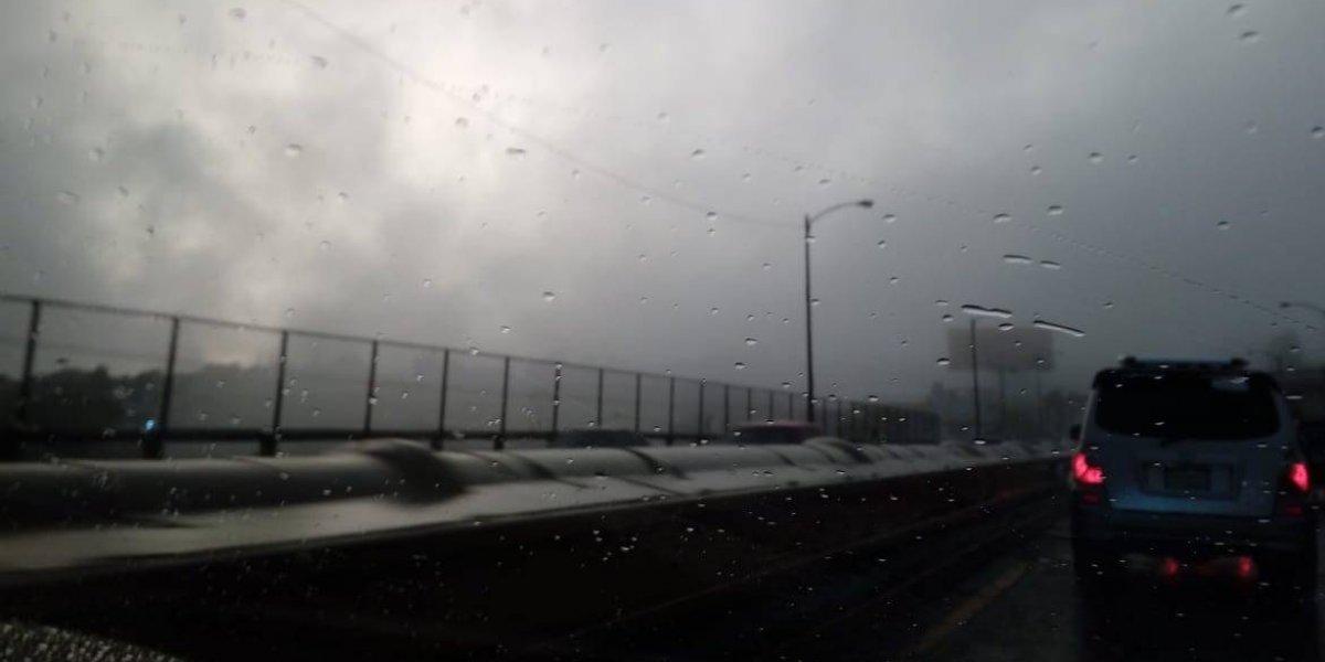 Se prevé lluvia durante la noche en el territorio nacional