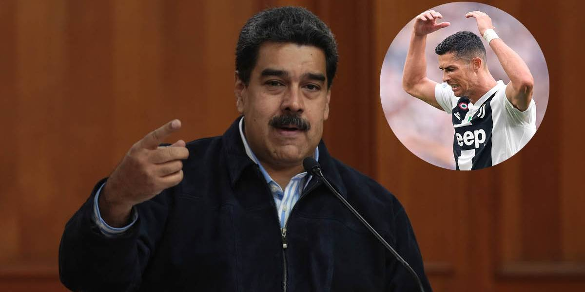 """Maduro: """"Cristiano Ronaldo se fue de España porque lo persiguieron"""""""