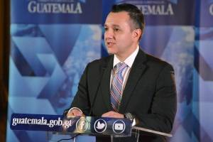 Mario Duarte, secretario de inteligencia