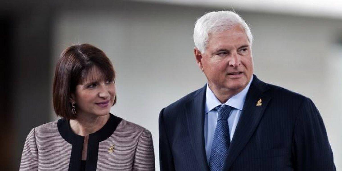 Esposa de expresidente Martinelli declara en caso de sobornos