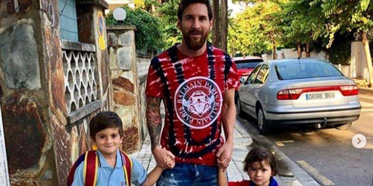 Lionel Messi vive un día muy especial junto a sus hijos