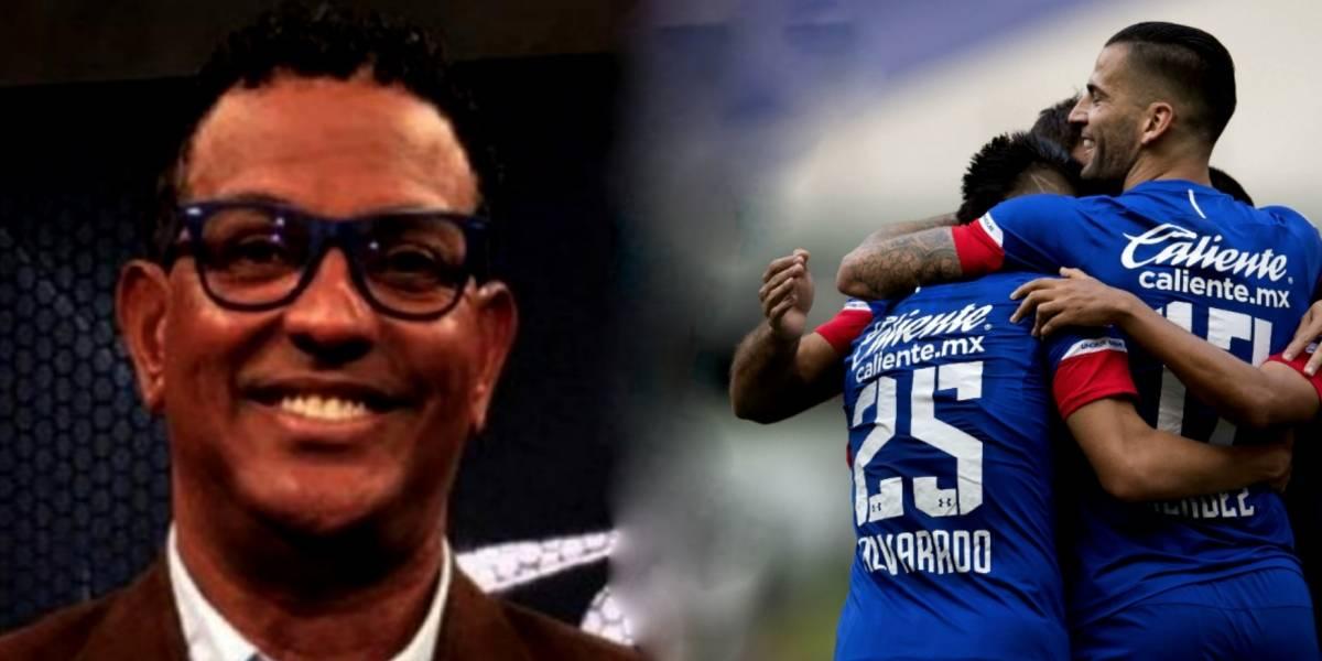 Cruz Azul tiene suerte, no es convincente: 'Negro' Santos