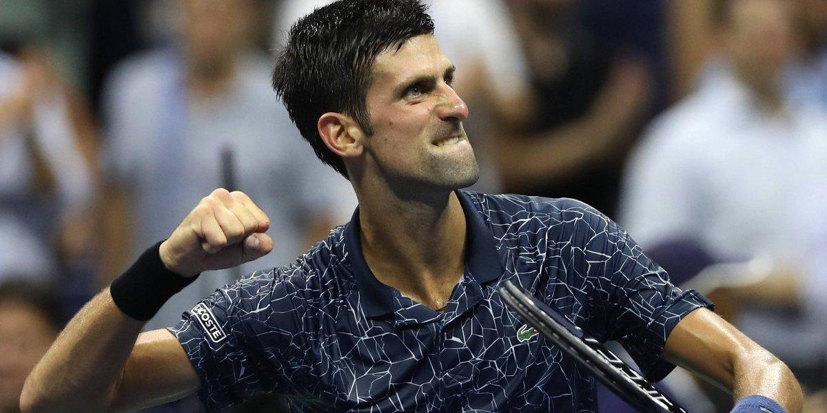 Novak Djokovic se instala en semifinales del US Open