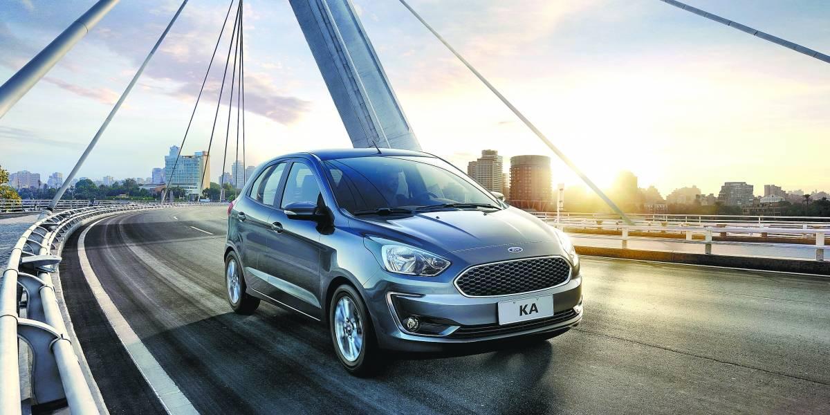 Ford Ka 2019 passa a ser oferecido em inéditas versões com motor 1.5 de três cilindros