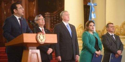 presidente Jimmy Morales confirma decisiones sobre CICIG