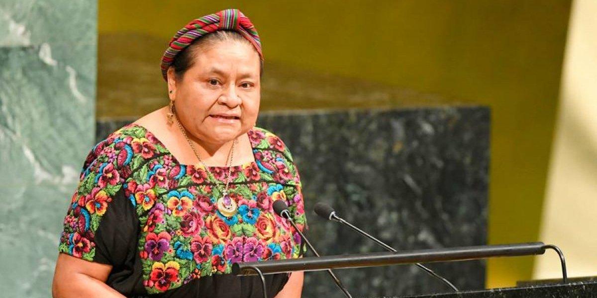 VIDEO. Rigoberta Menchú envía mensaje a Morales en relación a CICIG e Iván Velásquez