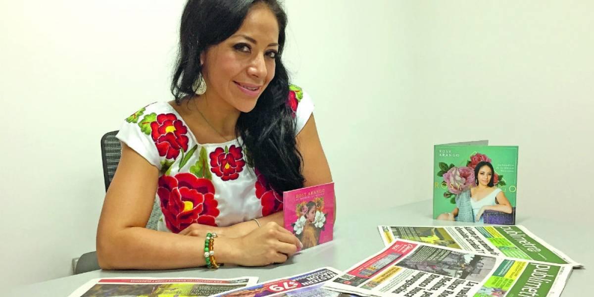 Rosy Arango: Sus fans son productores ejecutivos de su disco