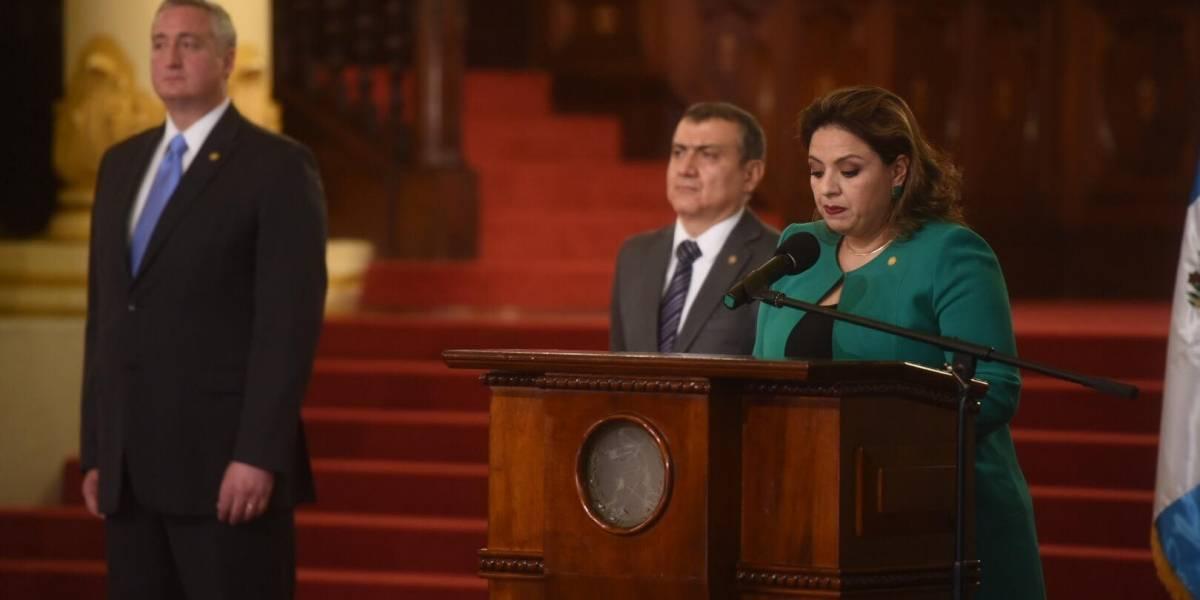 Canciller Sandra Jovel arremete contra la CICIG y Naciones Unidas