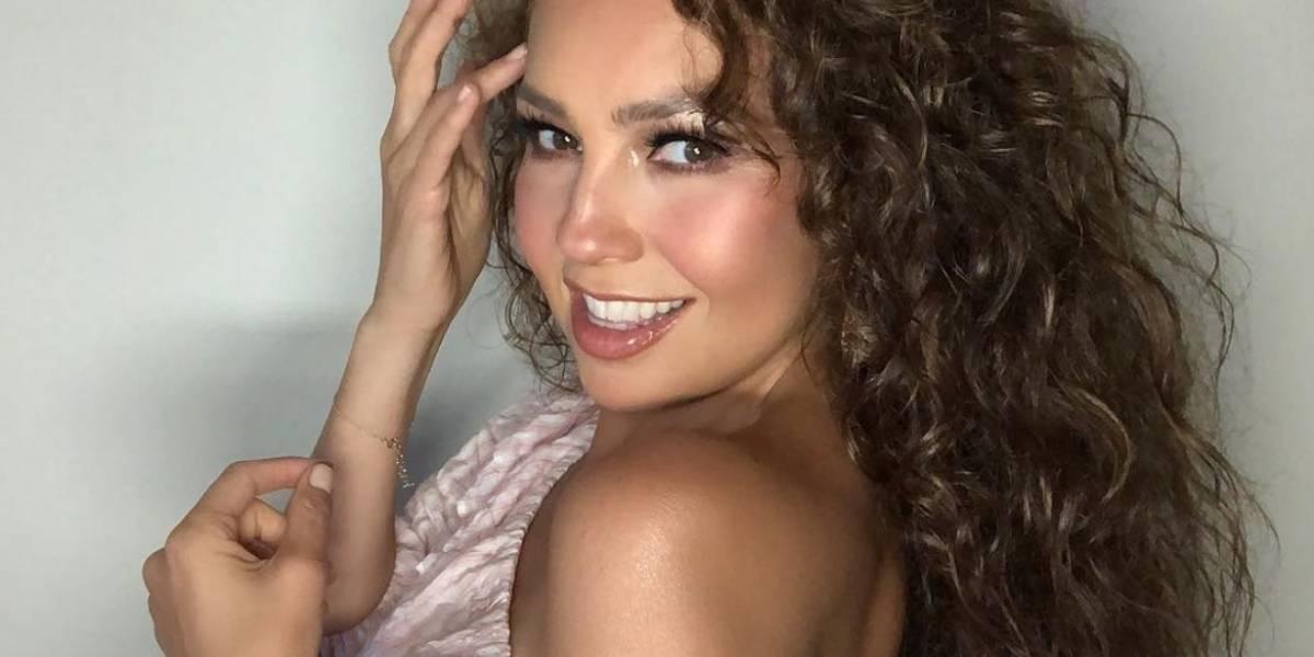 Thalía fue detenida por la policía y así lo evidenció en sus redes sociales