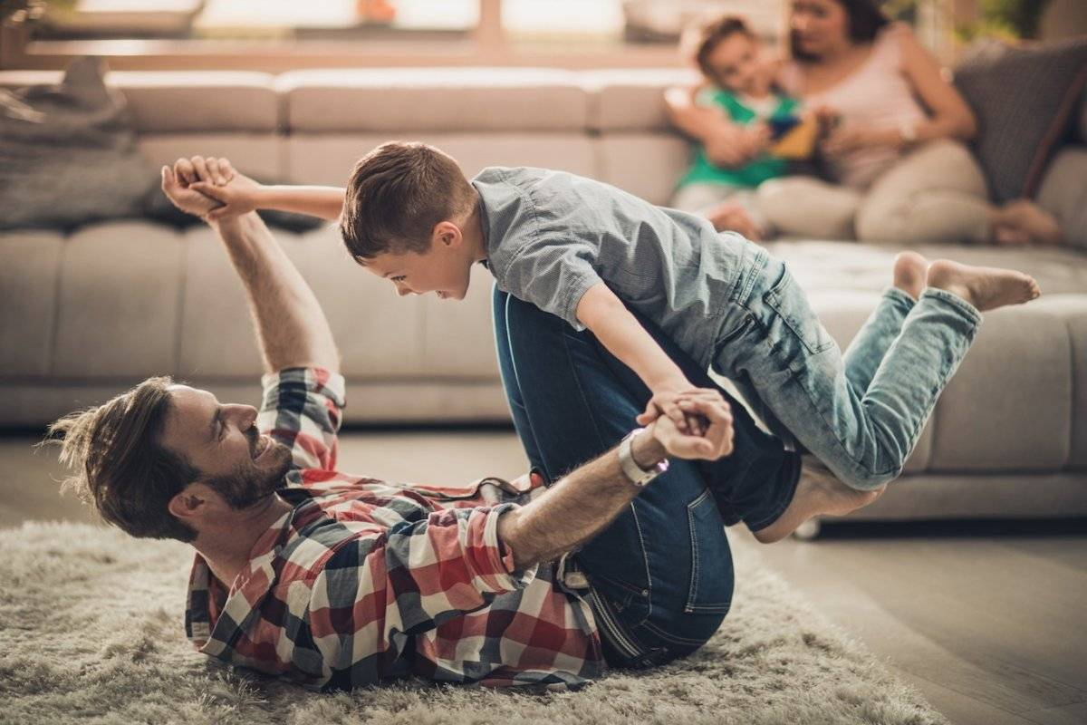 Juegos con niños